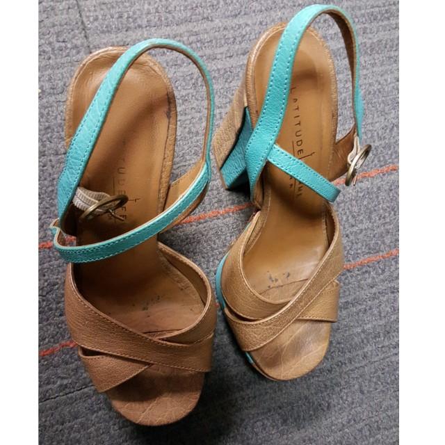"""Higheels shoes """"Latitude femme"""" size 36"""