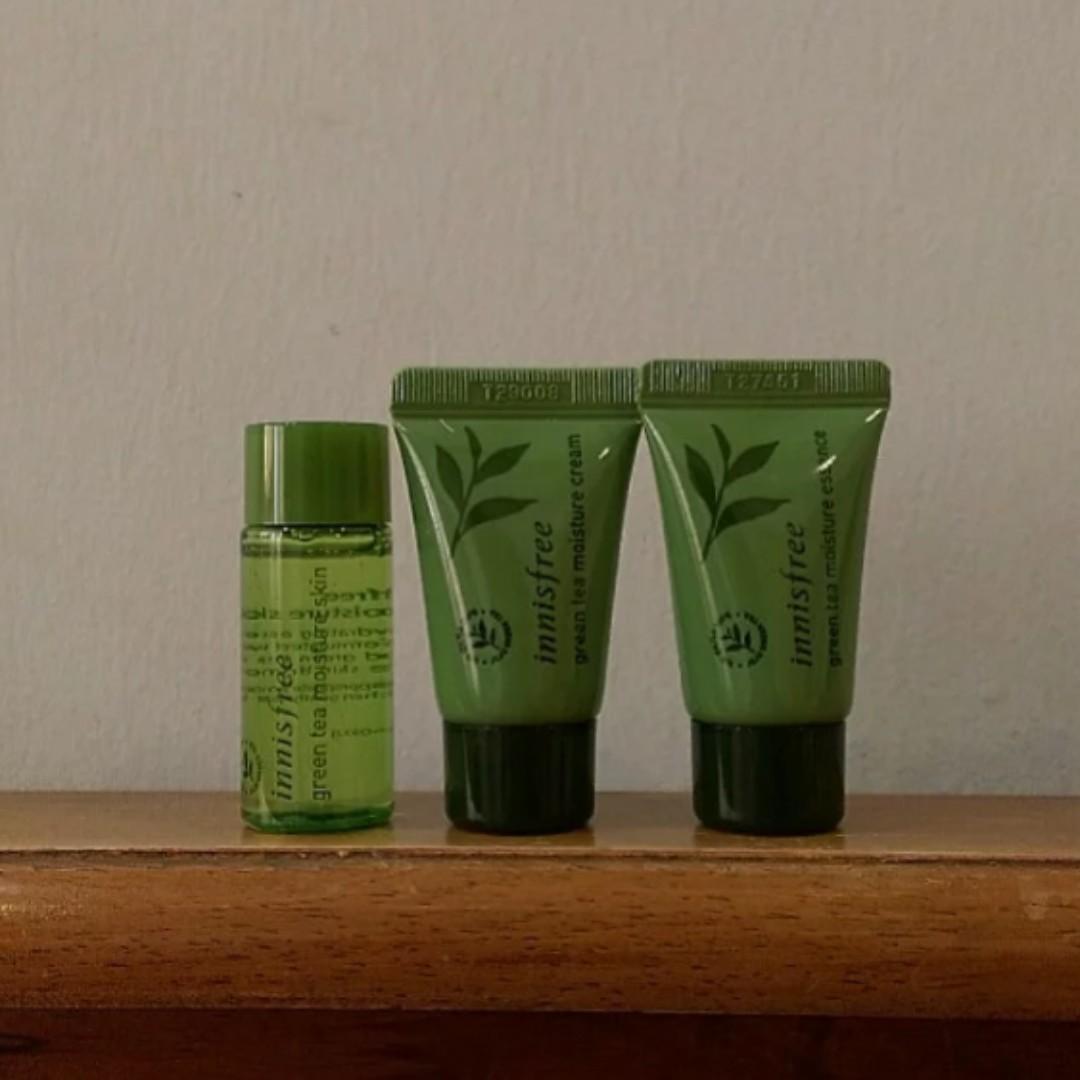 Innisfree Green Tea Series Travel Kit