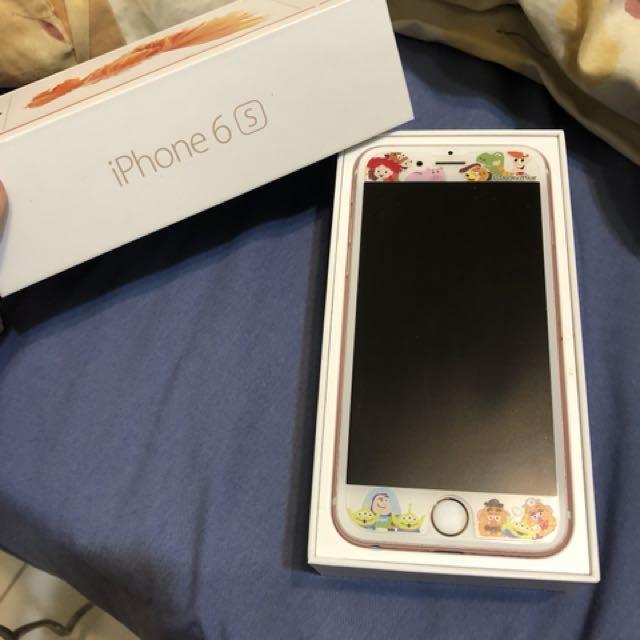 售iPhone 6s 玫瑰金64G