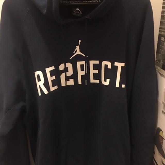 Jordan respect hoody xxl