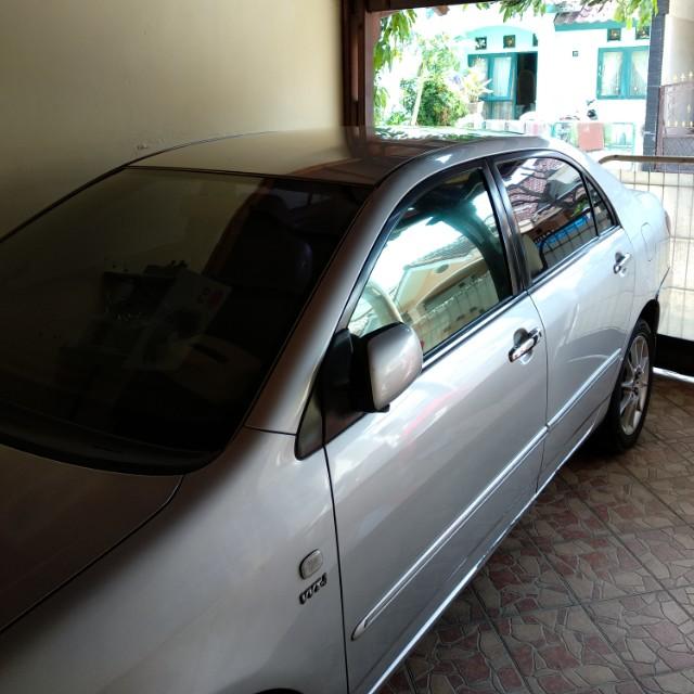 Jual Toyota Corolla Altis 1.8 G tahun 2004
