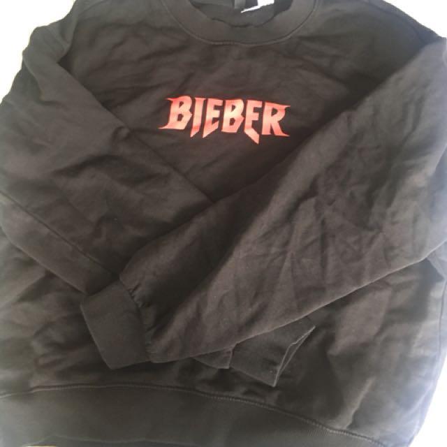 Justin Bieber purpose tour jumper