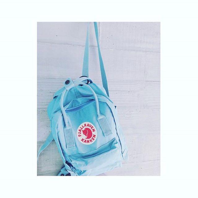 Kanken mini瑞典天藍後背包