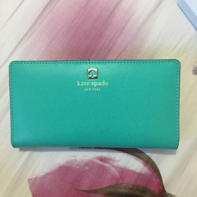 Kate Spade Wallet (Tiffany Blue)