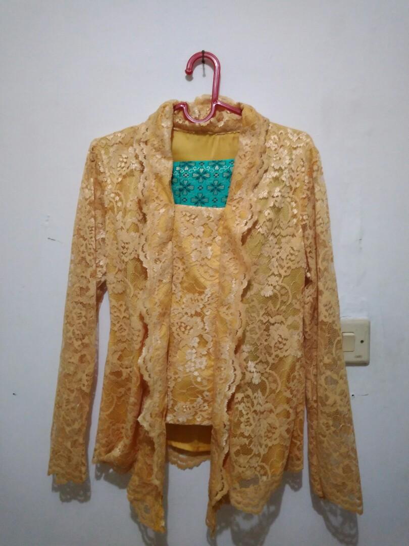 Kebaya Set (Kuning/Tosca)