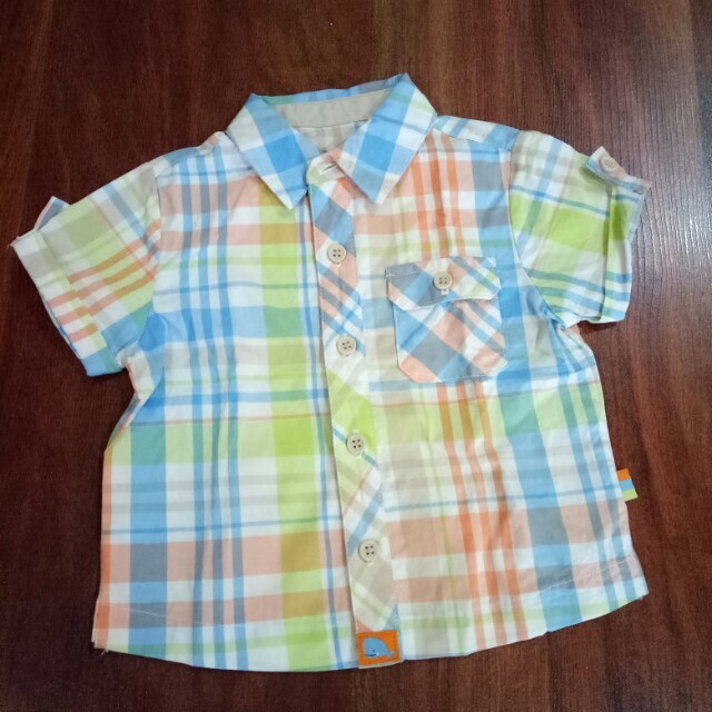 Kemeja mothercare size 0-3 months