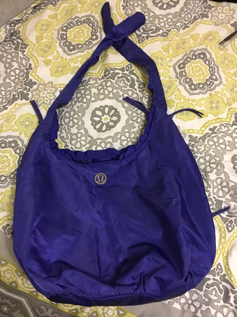 Lululemon gym/yoga bag