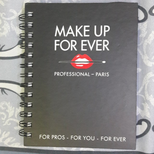 Makeup Forever Notebook