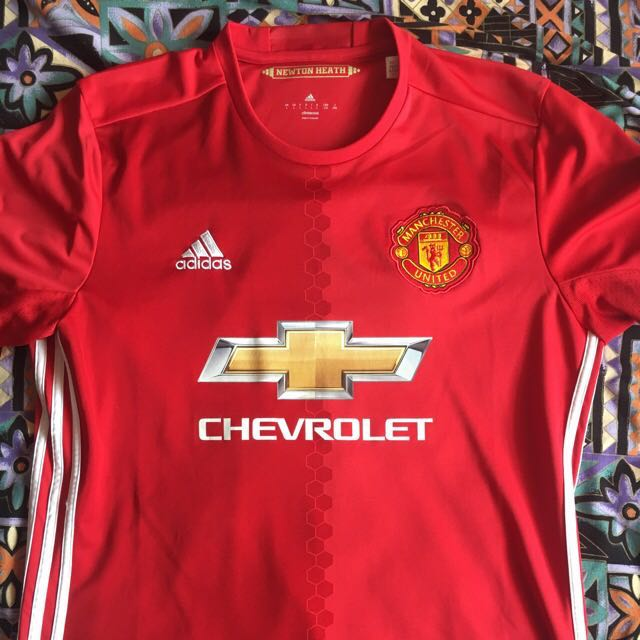 newest 6fcce 06a05 Man Utd Authentic Jersey (L) Size . TRADES available .