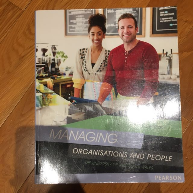 Managing Organisations and People 3rd edition
