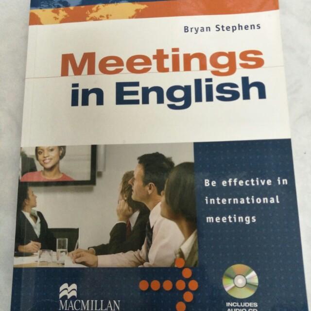 Meetings in English