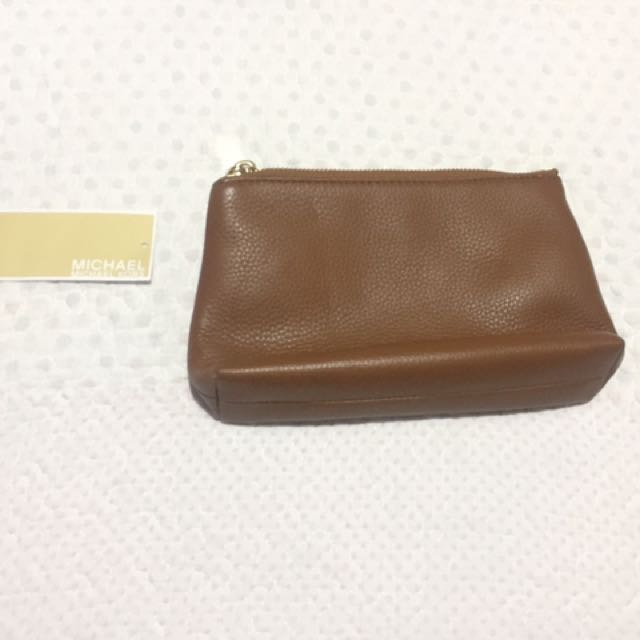 Michael Kors Travel or make up or clutch