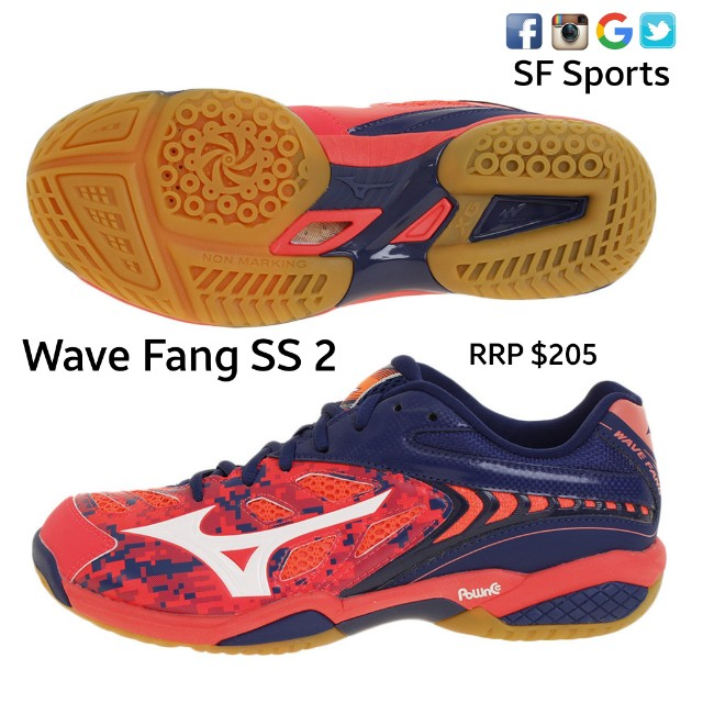 37473ec32199 Mizuno Wave Fang SS2, Sports, Sports Apparel on Carousell