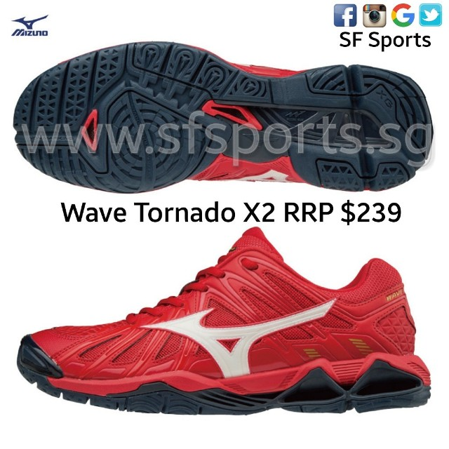mizuno wave tornado x2 review english