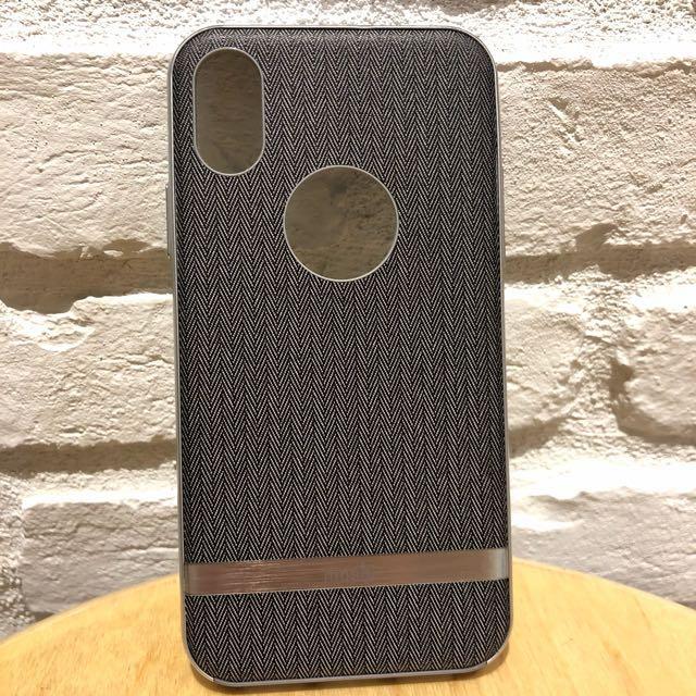 buy popular cf79d eb01f Moshi Vesta iPhone X Casing in Herringbone Grey