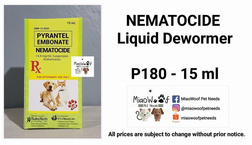 NEMATOCIDE Liquid Dewormer