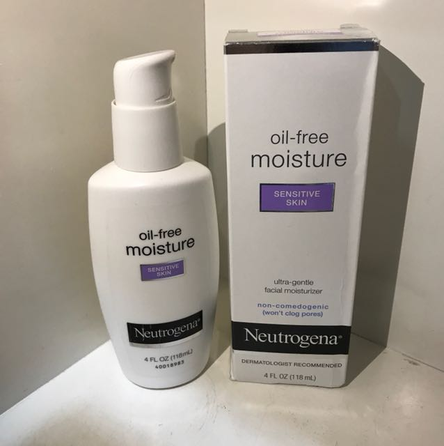 Neutrogena Oil Free Moisture (sensitive skin)