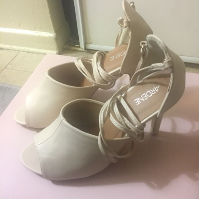 *Never Worn Out* Ardene Strap-Up Heels