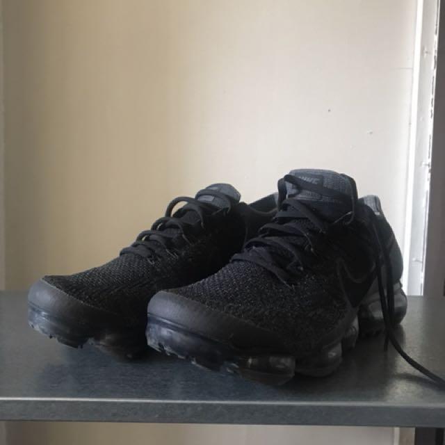 Nike Air Vapormax Black size 10