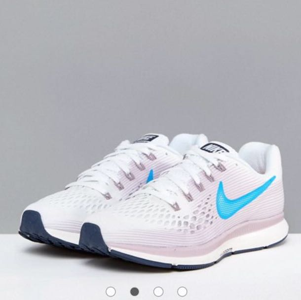 best service b21d6 b5399 Nike Running Air Zoom Pegasus Trainers In White, Women's ...