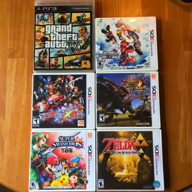 Nintendo 3DS Games/GTAV (PS3), Toys & Games, Video Gaming on