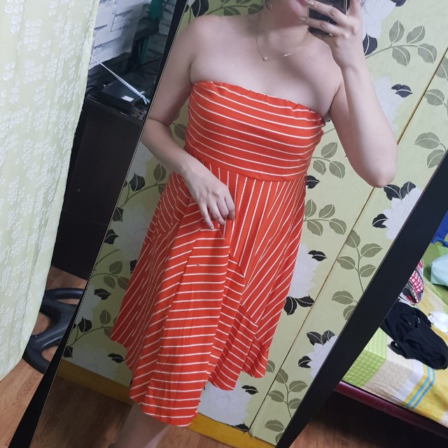 Orange tubeba OOTD sunmer