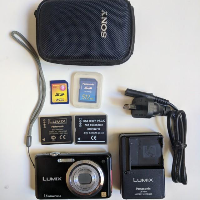 Panasonic Lumix DMC-FH3 point and shoot digital camera kit