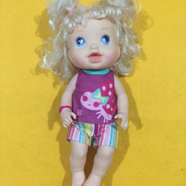 Preloved Baby Alive Make Me Better Baby-Blonde