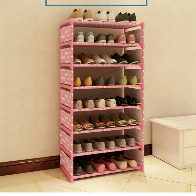 Rak Sepatu 8 Susun