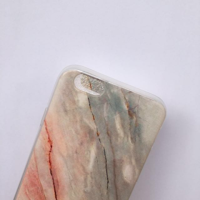 REPRICE! iPhone 6/6s marble case