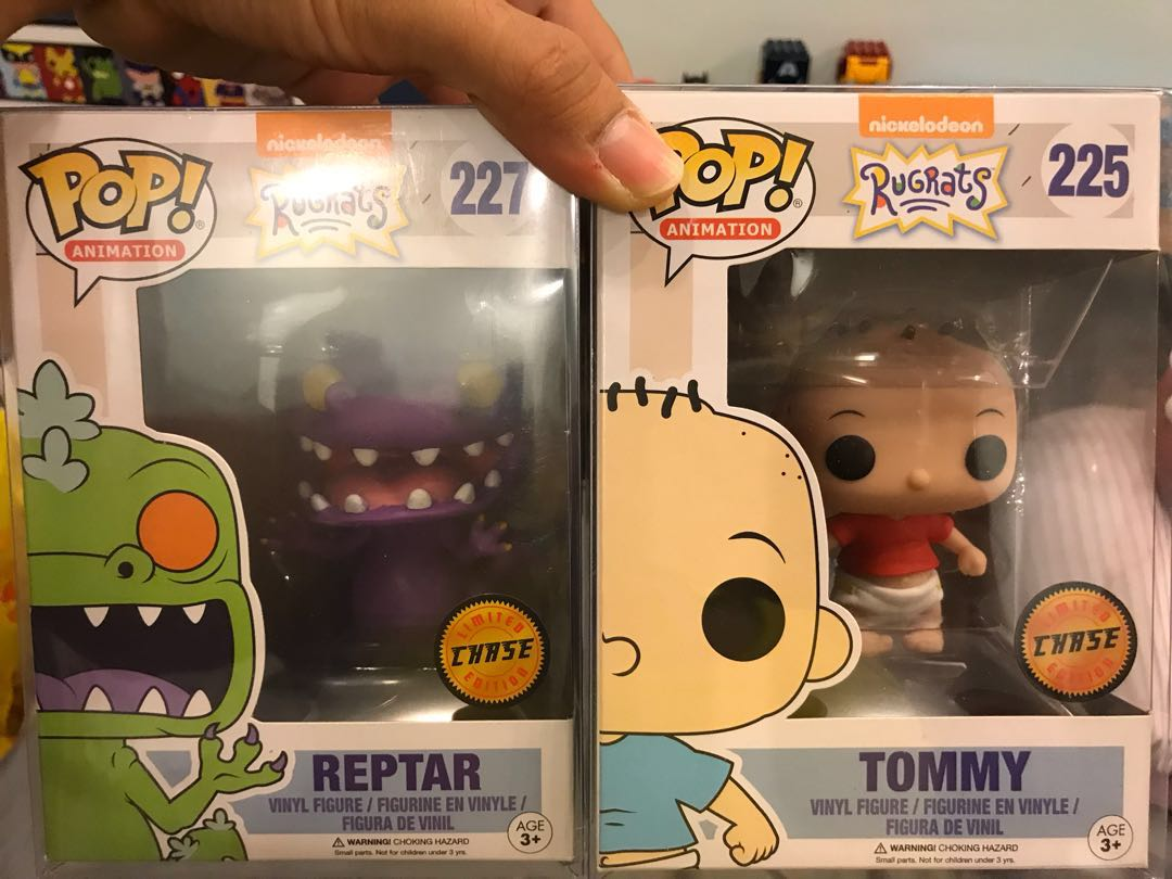 Rugrats Funko Chase (Tommy & Reptar)