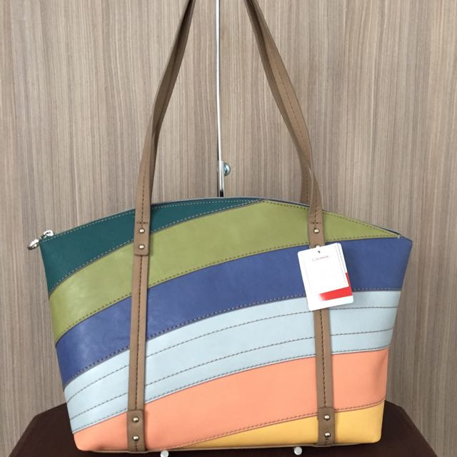 SALE! Relic by Fossil Caraway Medium Tote (Bright Multi)