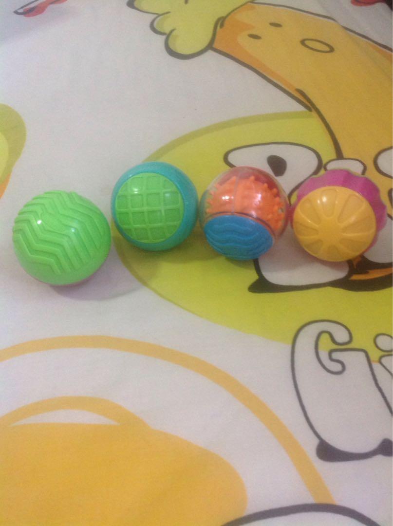 Sensory Toys Colorful Balls