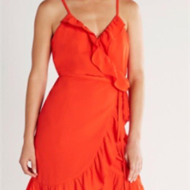 Sheike wrap dress