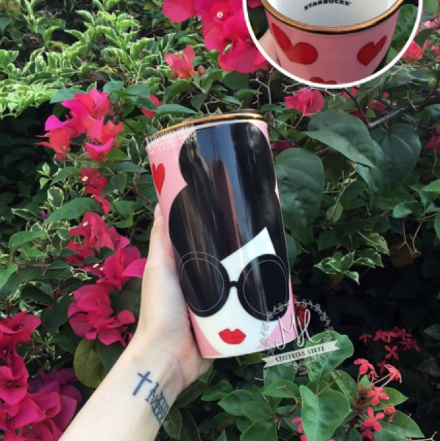 Starbucks alice olivia love dw