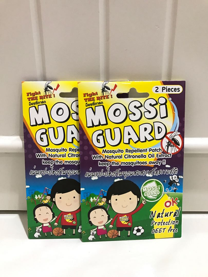 Stiker anti nyamuk Mossi Guard Mosquito Repellent Patch