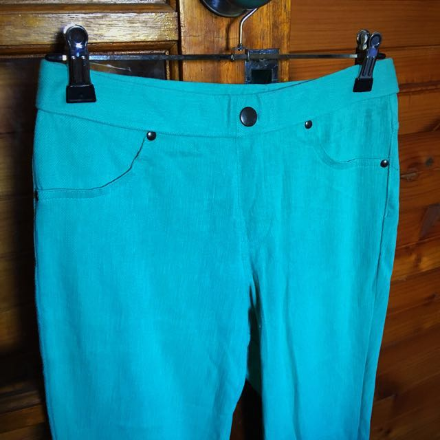 Stretchy Mint Jeggings