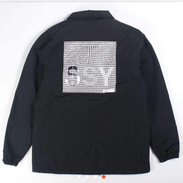 Stussy coach jacket