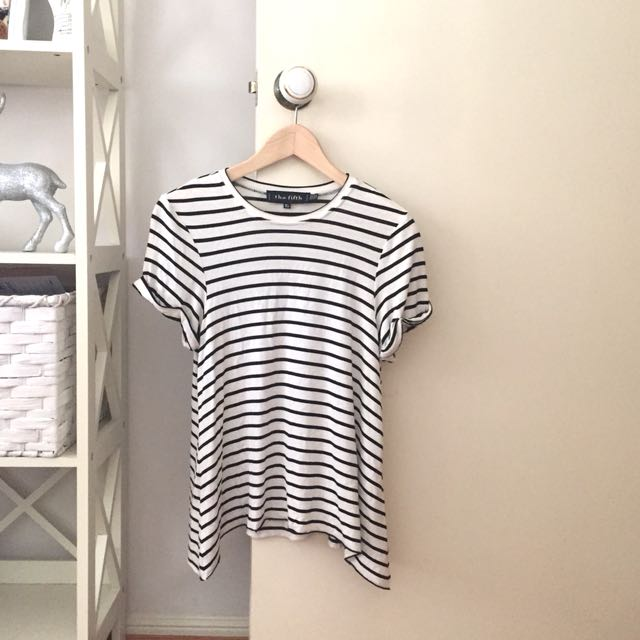 The Fifth Label Striped Flowy Shirt
