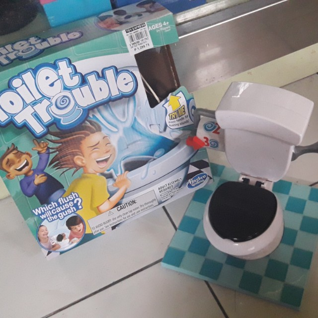 Toilet trouble gameq