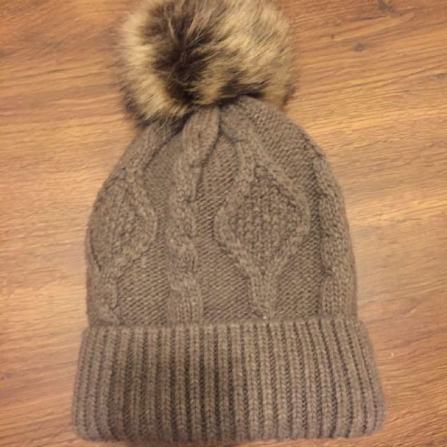Winter Soft Knitted Pom Pom Hat