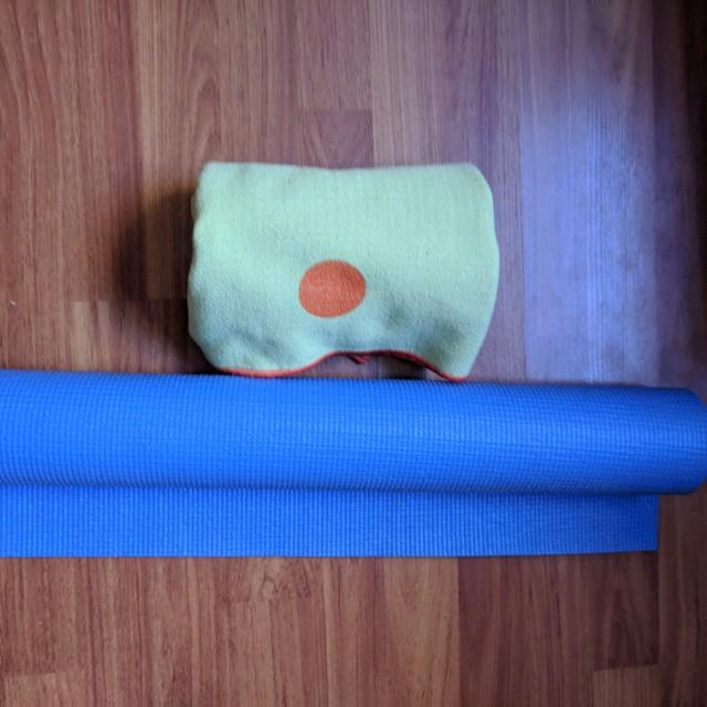 Yoga mat and Yogitoes Skidless Eco friendly towel