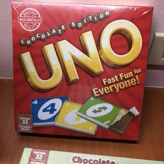 Uno Chocolate Edition