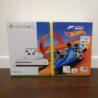 BNIB: Xbox One S (Forza Horizon 3 + Hot Wheels expansion)