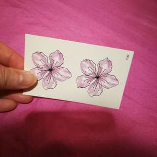 Tiny Tattoo Sticker (flower)