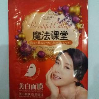 Ruth Years Beautiful College Whitening Mask