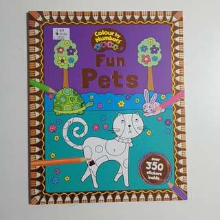 Fun pets activity book