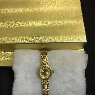 Gold-plated Quartz Watch
