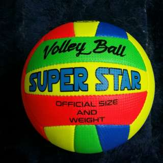 🈹New Super Star Volleyball!新款彩色排球!
