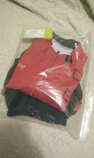 Specialized cycling jersey set, with bottom tights, Size M